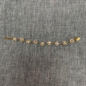 Kate Spade crystal ball bracelet
